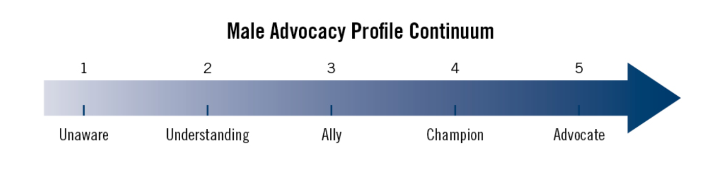 Male Advocacy Profile Continuum