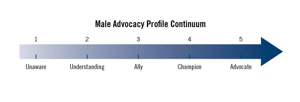 Male Advocacy Profile Continuum