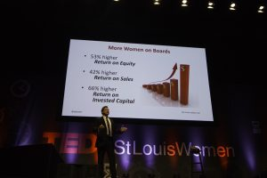 Forbes TEDxStLouisWomen Jeffery Tobias Halter gender equality in the workplace