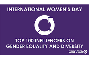 Onalytica International women's Day influencers