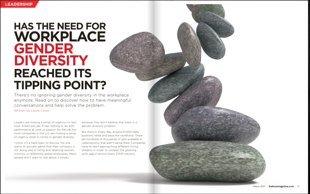 The BOSS Magazine - Jeffery Tobias Halter gender diversity in the workplace