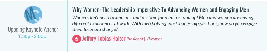 Women in Automotive Keynote Speaker Jeffery Tobias Halter