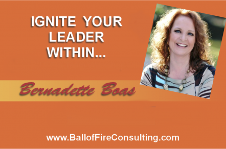 Bernadette Boas - Ignite the Fire Interview