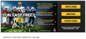 NFL Fantasy Football - women