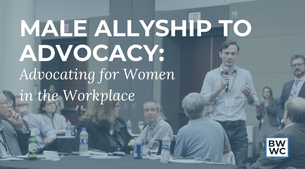 Male Allies in the Workplace - From Allyship to Advocacy workshop with Jeffery Tobias Halter and Boston Women's Workforce Council